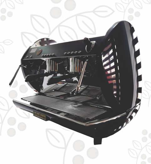Máquina de Café Express/Capuchinera Carat dos Grupos Auto Robot