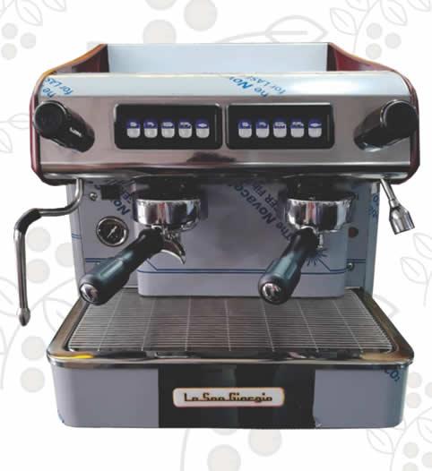 Máquina de Café Express/Capuchinera Compact dos Grupos Semi Automática