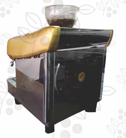 Máquina de Café Express/Capuchinera La San Giorgio Maxi 1 Grupo Automática con molino incorporado