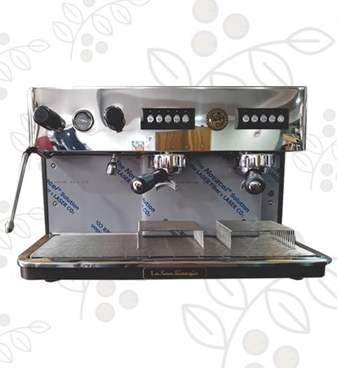 Máquina de Café Express/Capuchinera Barista dos Grupos Semi Automática