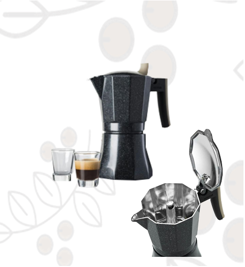 Cafetera Espresso Moka POT