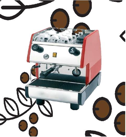 Máquina de Café Express/Capuchinera Pavoni un Grupo Semi Automática