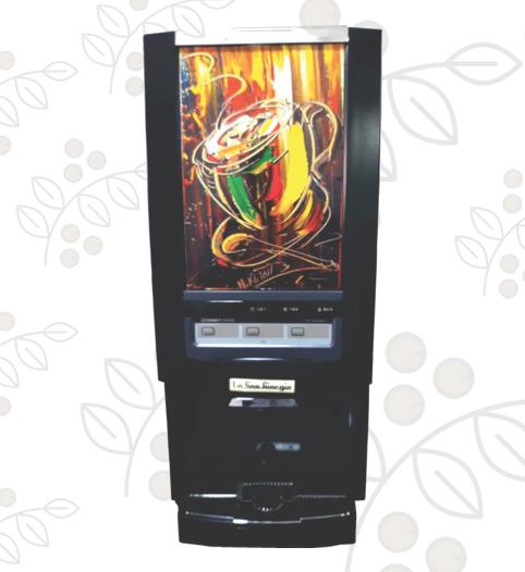Dispensadora de Café Instantáneo Súper Automática CoffeBar