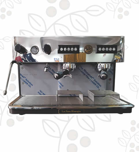 Máquina de Café Express/Capuchinera Barista dos Grupos Automática