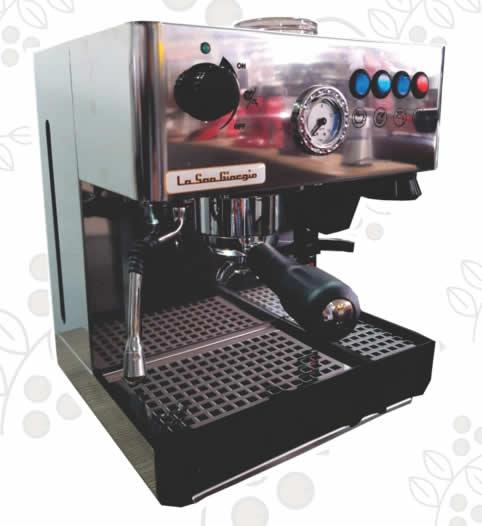 Máquina de Café Express/Capuchinera La SanGiorgio Forza molino incorporado semiprofesional