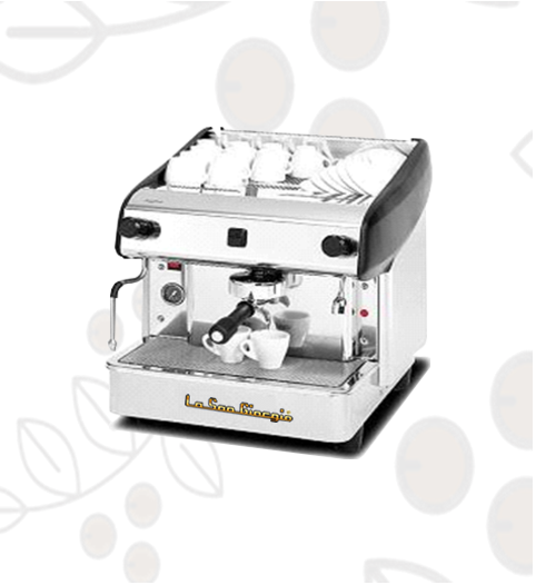 Máquina de Café Express/Capuchinera La SanGiorgio Maxi un Grupo Semi Automática